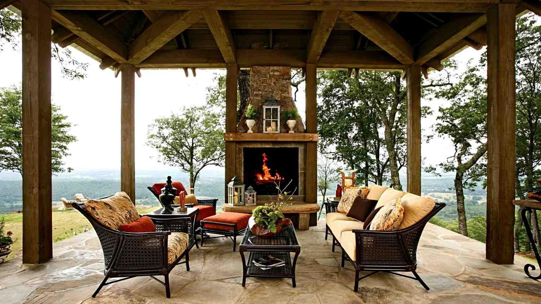 Evinizin yakınında bir ahşap teras nasıl oluşturulur?