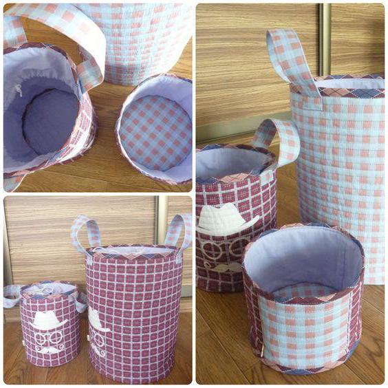 9bb4dfbb151d Для этой цели можно сделать вместительные текстильные органайзеры и корзины  для игрушек своими руками из ткани. Такие сундучки легко украсить и  снабдить ...